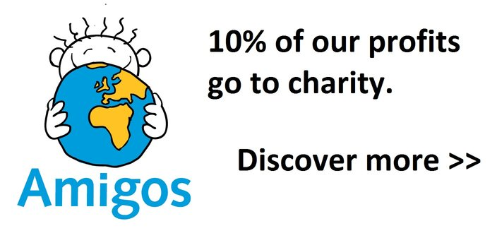100% of our profits go to charity