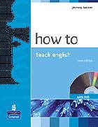 How to Teach English (Harmer)