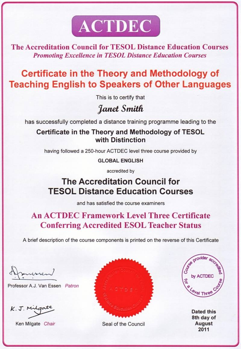 trinity cert tesol Trinity cert tesol trinity tesol sheffield, united kingdom cactus tefl pre-course if accepted on the course you will be required to complete.