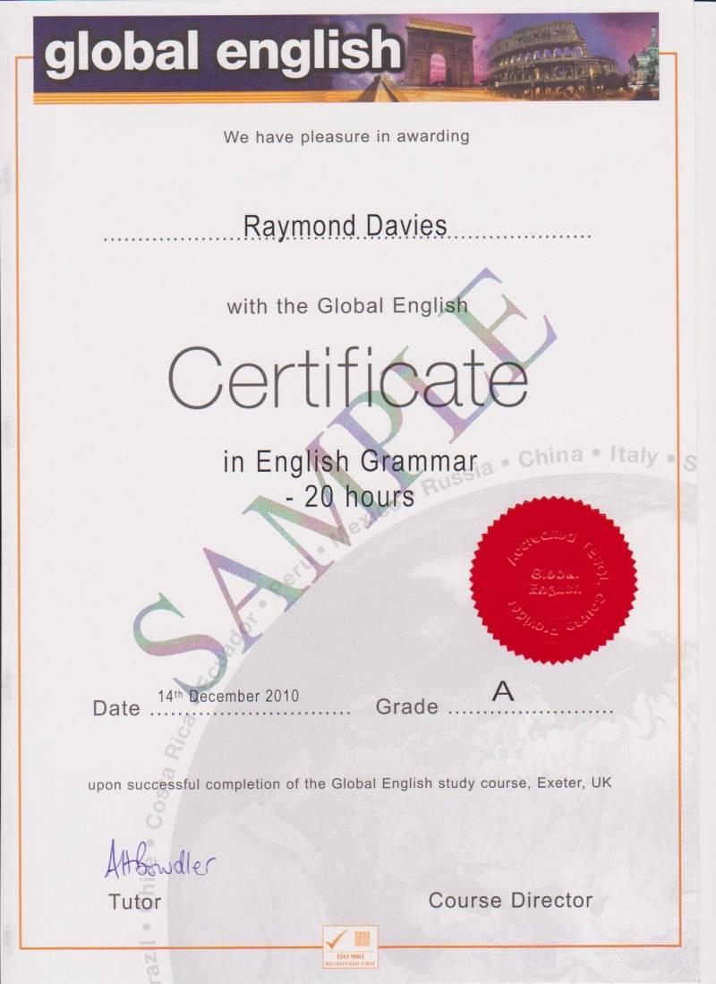 english courses teacher: