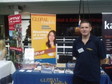 Global English at the Graduate Fair London in June