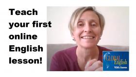 Teaching a general English lesson online – a video walkthrough